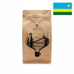 Zrnková káva - Rwanda vhodná na filtr