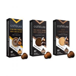 Balíček horkých čokolád - 30 kapslí pro Nespresso kávovary