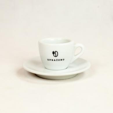 Upraženo - Šálek s podšálkem na espresso 60 ml
