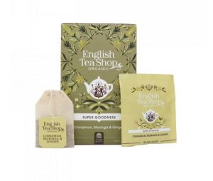 English Tea Shop BIO čaj Skořice, moringa a zázvor - 20 sáčků