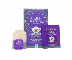 English Tea Shop BIO Bezkofeinový černý čaj - 20 sáčků