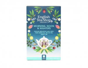 English Tea Shop Mix BIO čajů Ranní, polední a noční - 20 sáčků