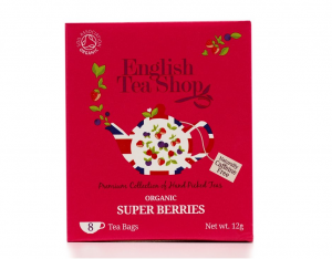 English Tea Shop BIO Super ovocný čaj - 8 sáčků