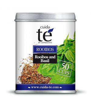 Sypaný Rooibos čaj a bazalka, Cuida Té 100 g