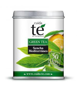 Sypaný zelený čaj Sencha Mediterráneo, Cuida Té 100 g
