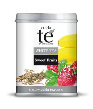 Sypaný bílý čaj Sweet Fruit, Cuida Té 100 g