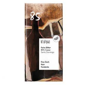 Vivani Hořká čokoláda 85 % BIO vegan - 100 g