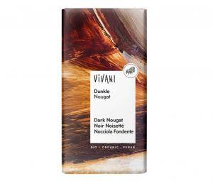 Vivani Hořká čokoláda NUGÁTOVÁ BIO vegan - 100 g