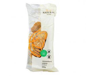 Amarantovo-vanilkové sušenky, celozrnné bez vajec a mléka, Natural - 150g