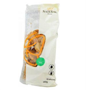 Grahamky celozrnné sušenky bez vajec a mléka, Natural - 150 g