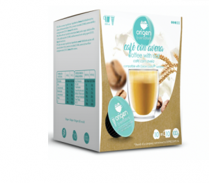 Káva s ovesným mlékem, Origen - 10 kapslí pro Dolce Gusto