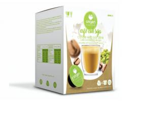 Káva se sojovým mlékem, Origen - 10 kapslí pro Dolce Gusto