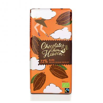 Upraženo - Chocolates-From-Heaven-BIO-horka-cokolada-72%-100g