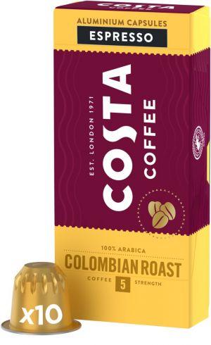 Costa Coffee Colombia Roast  - 10 kapslí pro Nespresso kávovary