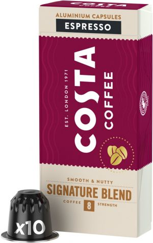 Costa Coffee Signature Blend Espresso - 10 kapslí pro Nespresso kávovary