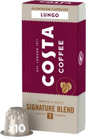 Costa Coffee Signature Blend Lungo - 10 kapslí pro Nespresso kávovary