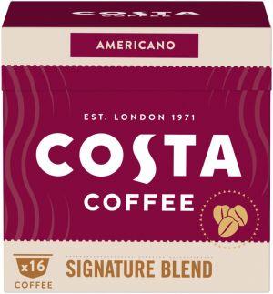 Costa Coffee Signature Blend Americano - 16 kapslí pro Dolce Gusto kávovary