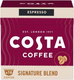 Costa Coffee Signature Blend Espresso - 16 kapslí pro Dolce Gusto kávovary