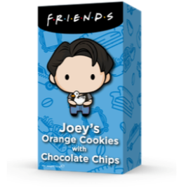 F.R.I.E.N.D.S Joeyho pomerančové sušenky s čokoládovými kousky - 150 g