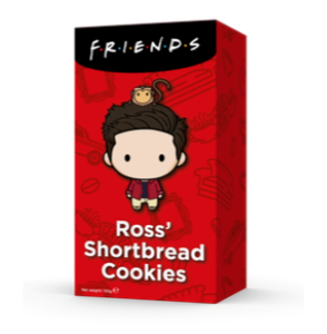 F.R.I.E.N.D.S Rossovy tradiční sušenky - 150 g