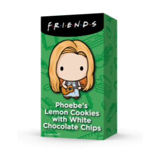 F.R.I.E.N.D.S Pheobeiny Citrónové sušenky s kousky bílé čokolády - 150 g
