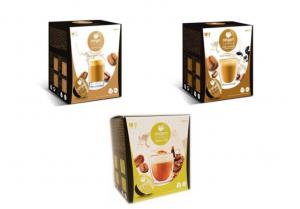 Balíček káv s mlékem Origen - 48 kapslí pro Dolce Gusto kávovary